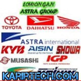 Lowongan Kerja Jabotabek Operator Produksi PT. Astra Group