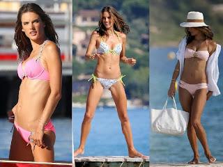 Alessandra Ambrosio Bikinis Saint Tropez