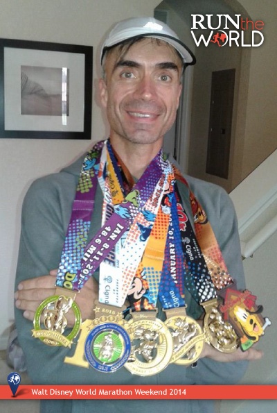 Walt Disney World Marathon 2014