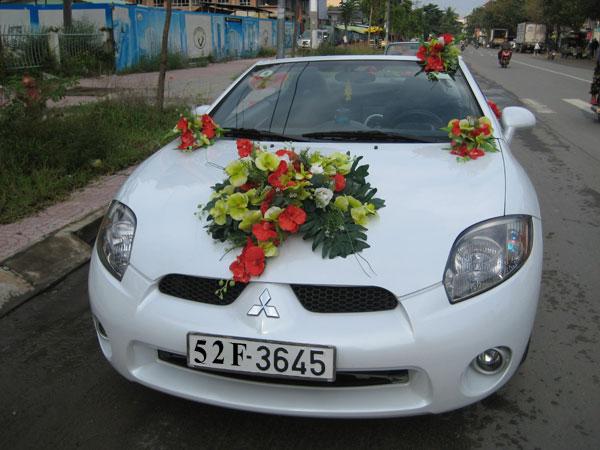 Cho thuê xe cưới Mitsu Eclipse 2008,Xe Cưới Mui Trần
