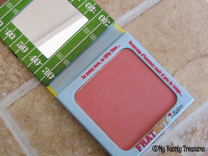 theBalm Frat Boy blush review