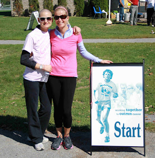 breast cancer blog; best friends support; reflection; terry fox