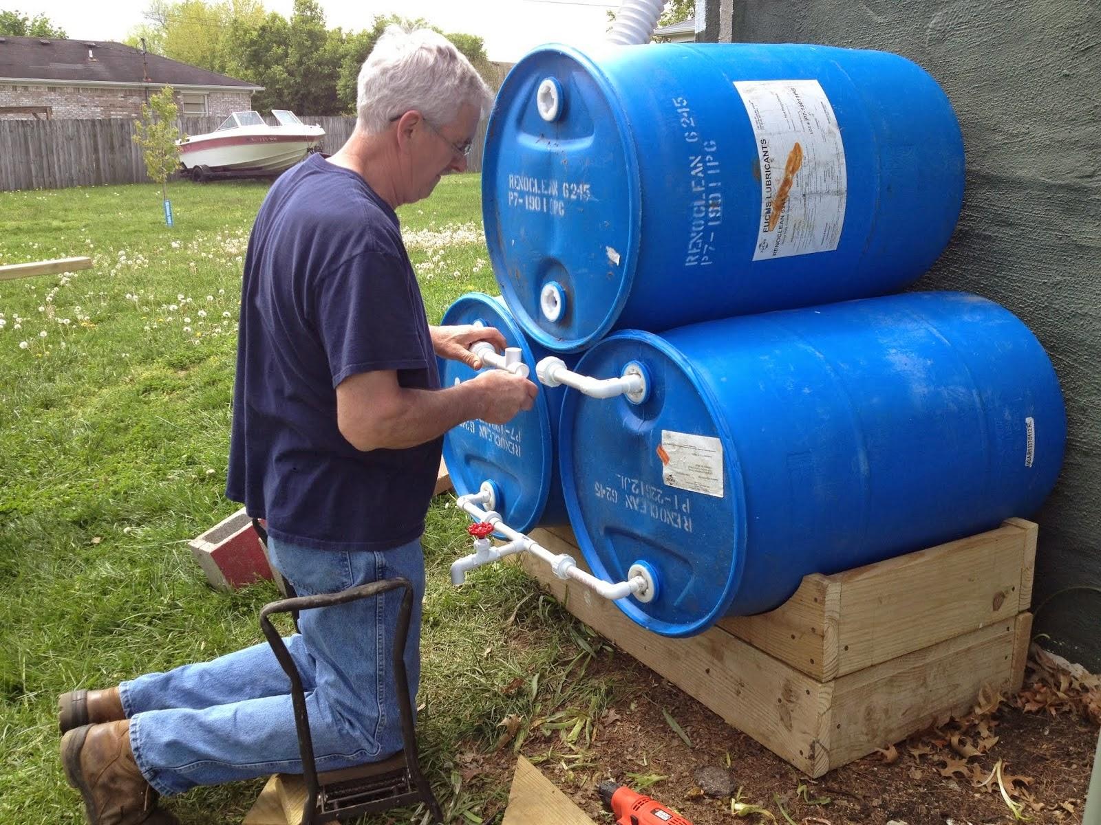 Tambor bombonas tonel barril de pl stico tambores for Tambores para agua