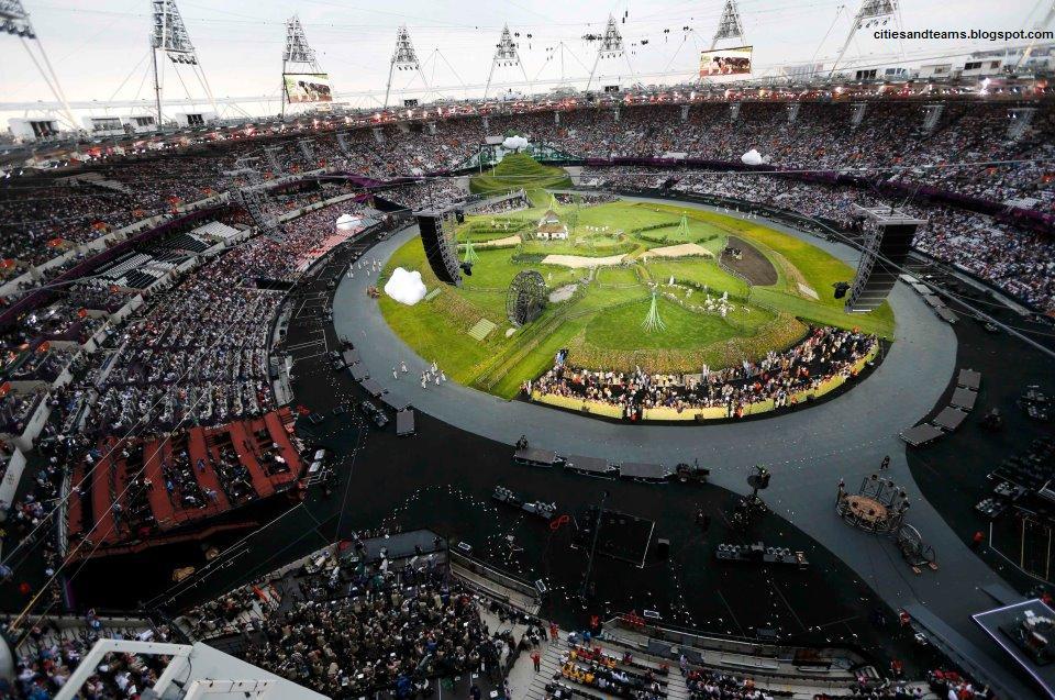 London Olympic Stadium 2012 Olympics Unbelievable