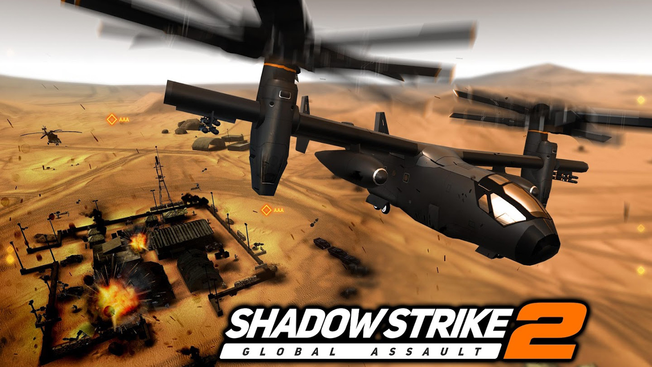 Shadow Strike 2 Global Assault Gameplay IOS / Android