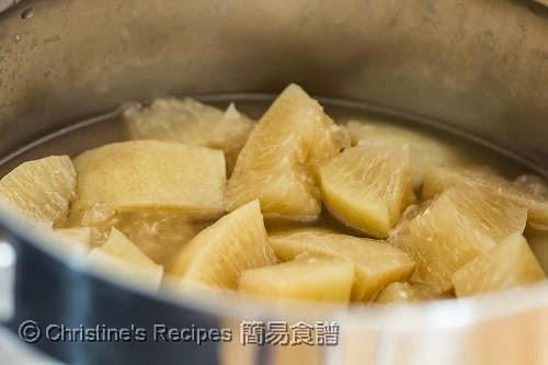 燜柚子皮 Braised Pomelo Pith04