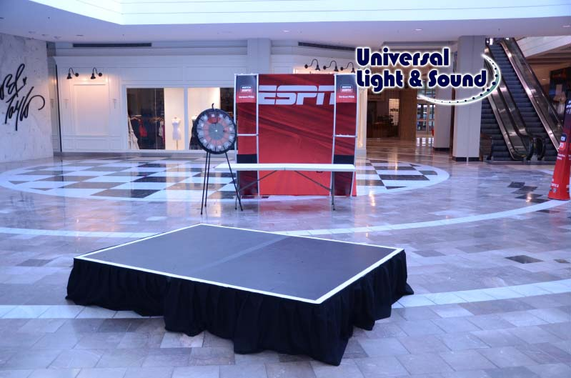 Universal light and sound recent events espn live and verizon at roosevelt field mall and for Lord and taylor garden state plaza