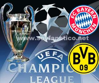 Final Champions League 2013 - Bayern vs Dortmund
