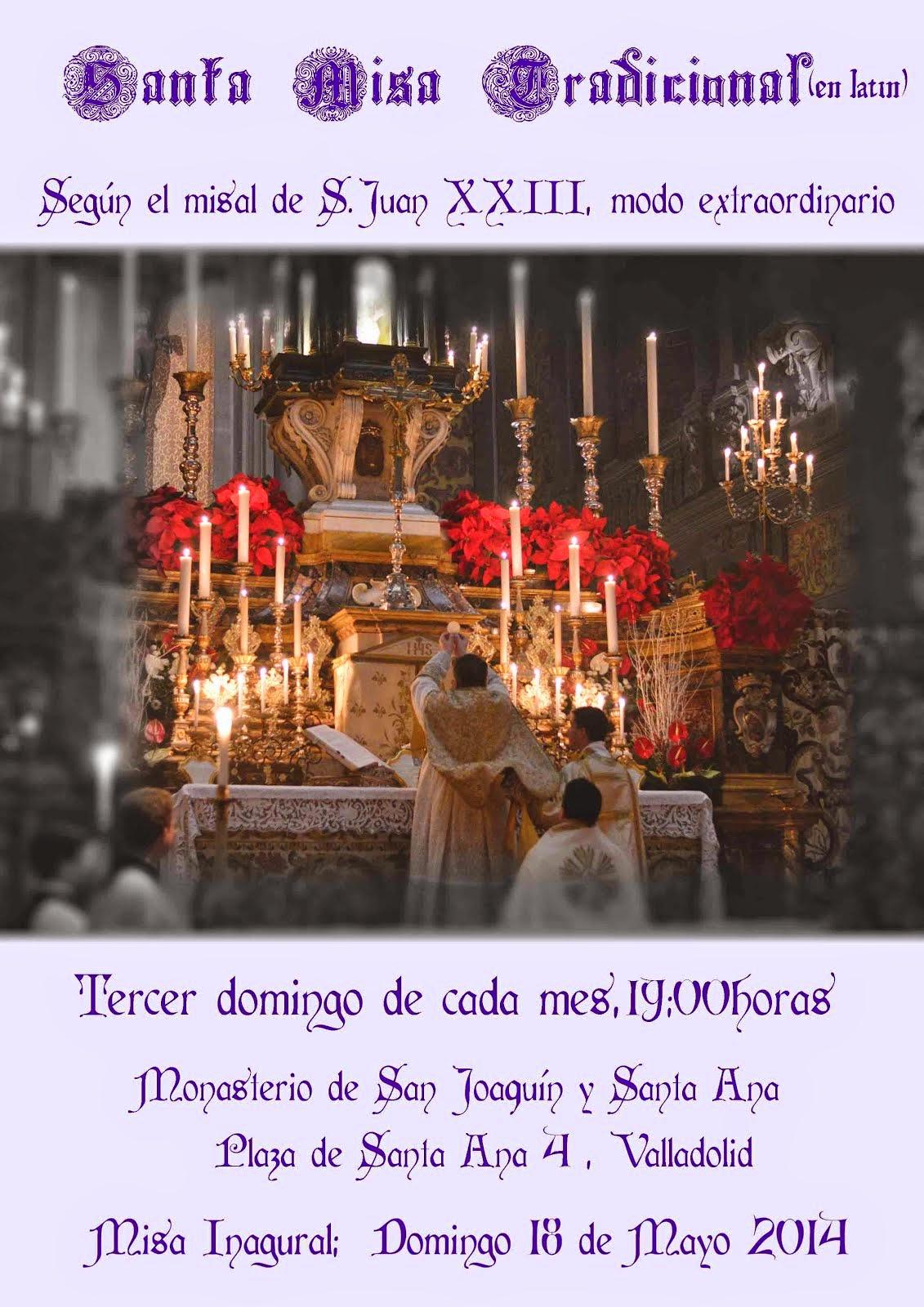 Horarios de la Santa Misa