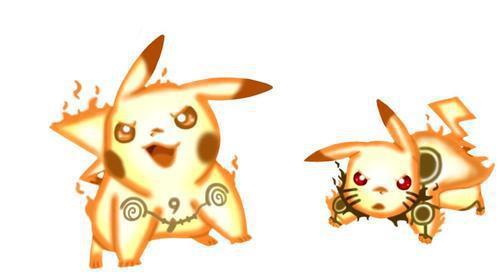 animeme hq pikachu in bijuu mode