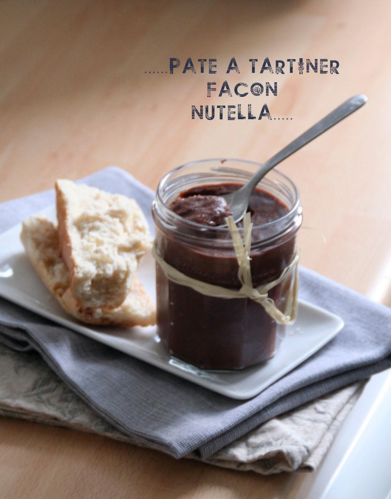 Et charlotte d couvrit la cuisine p te tartiner - Nutella maison cuisine futee ...
