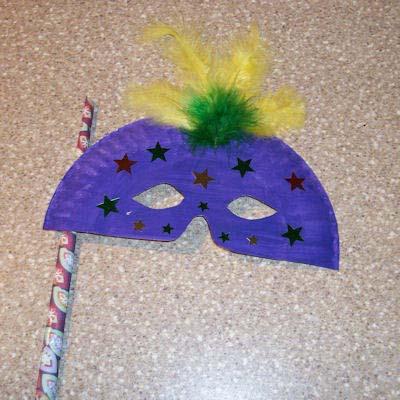 Лесна маска за Хелоуин