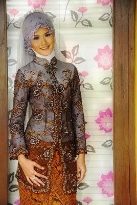 Model Kebaya Muslim Terbaru 2015