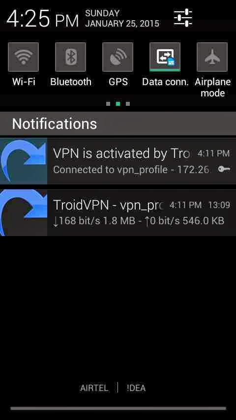 Airtel troid vpn trick updayed jan-feb 2015 proof added
