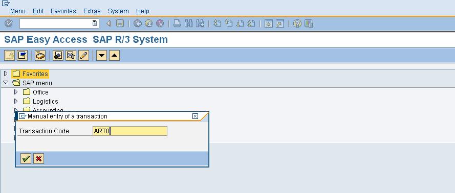 How To Add Favorites To SAP Main Menu