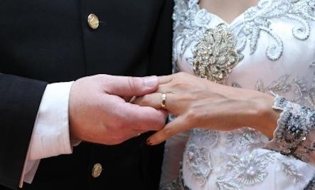 The Myth of Happily Ever After  - wedding ring marriage