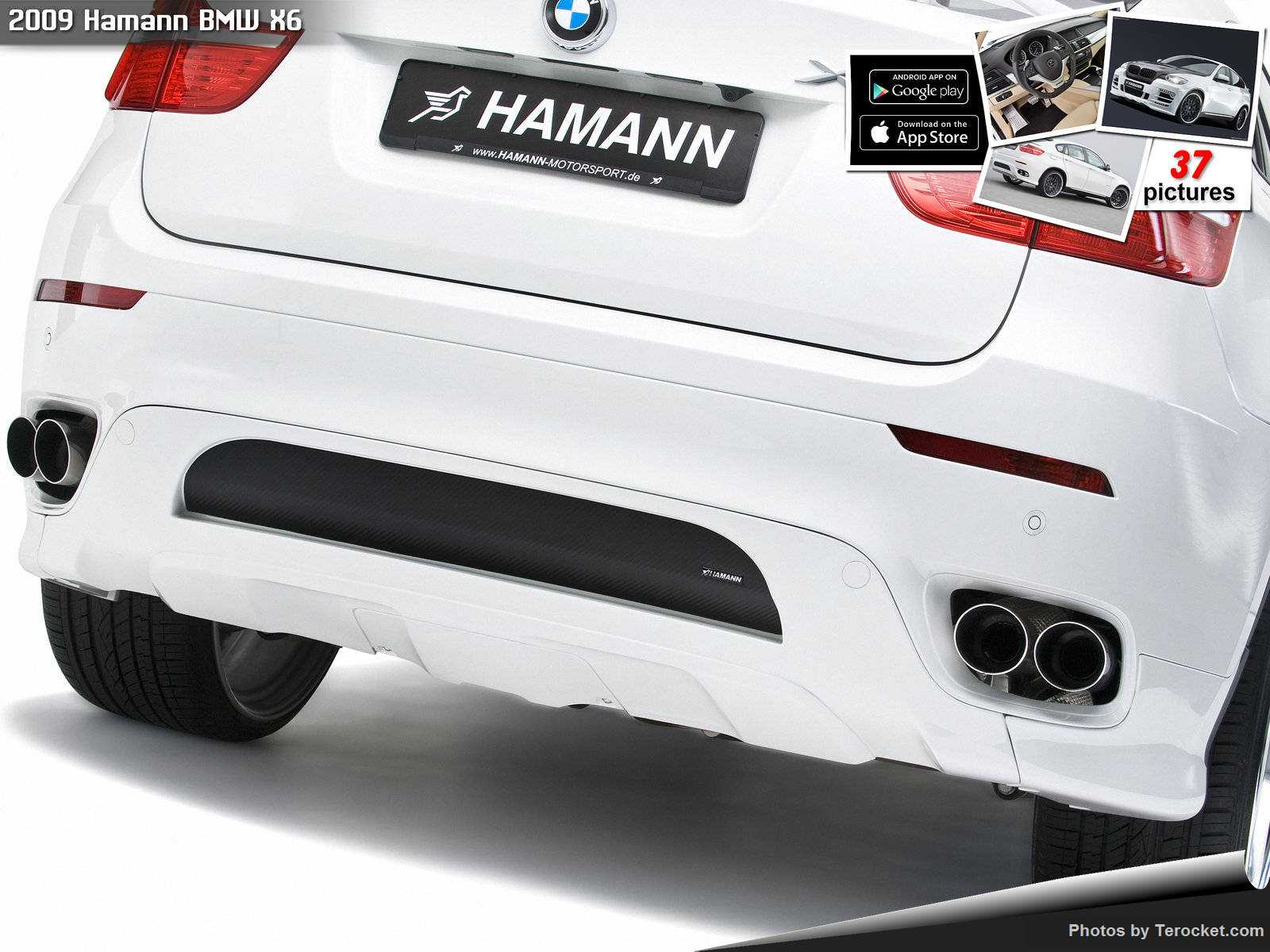 Hình ảnh xe ô tô Hamann BMW X6 2009 & nội ngoại thất
