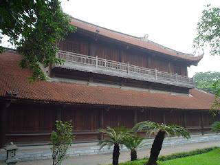 TTemple of literature, Hanoi, Vietnam. Van Mieu (Văn Miếu)