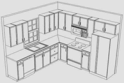 Small Kitchen Layout Design - Home Interior Design