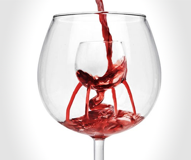 Gallery For Unique Wine Glasses