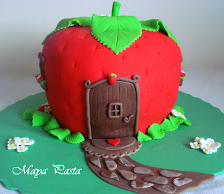 Strawberry shortcake house