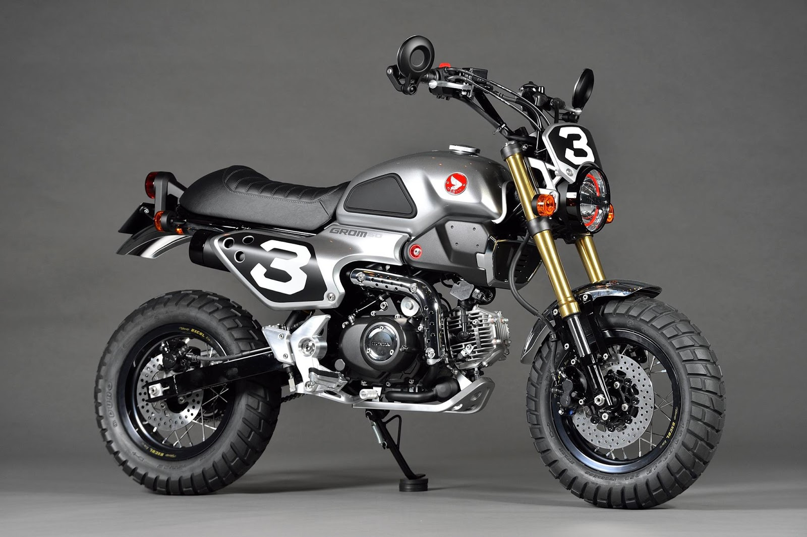 Planet Japan Blog Honda Grom Scrambler Concept One
