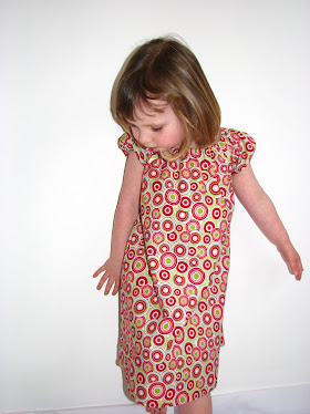Cranberry Swirls Dress