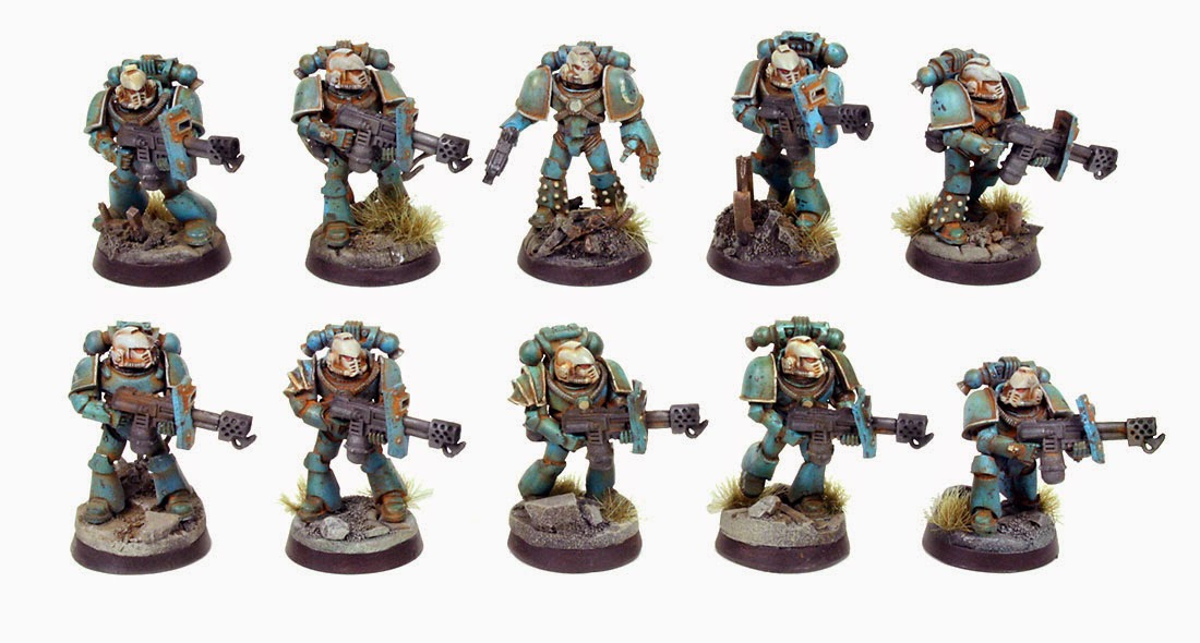 Alpha Legion Tactical Support Squat with Flamers