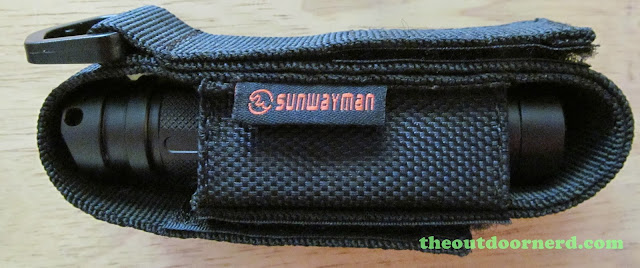Sunwayman V11R Disassembly:Reassembeled In Nylon Holster