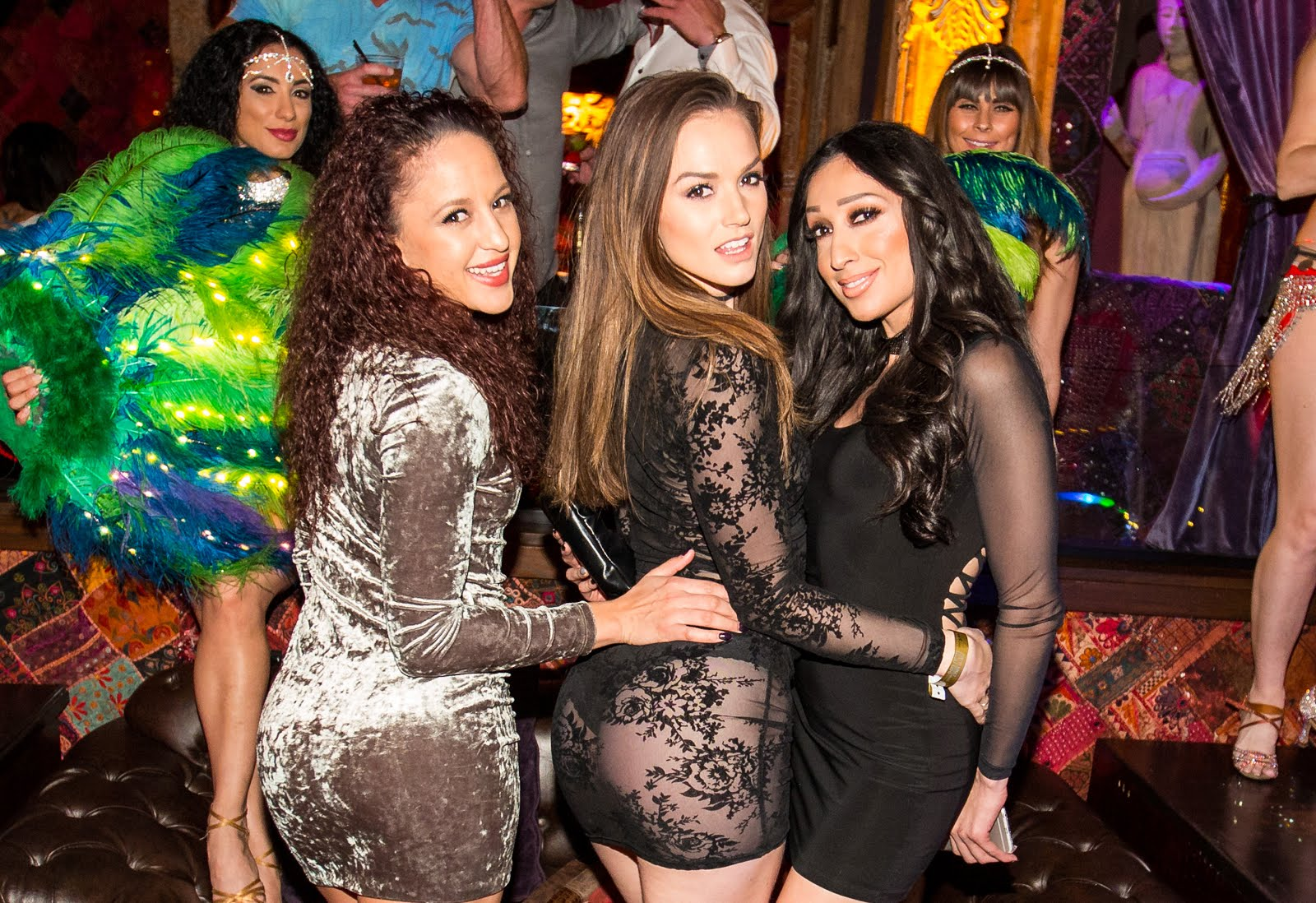 Adult Actress Tori Black Partying With Friends At House Of Blues Foundation Room Friday Night The Team Was Busy Preparing For Special Guest Host