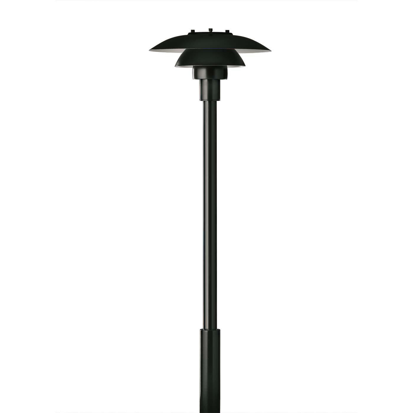Modern Outdoor Bollard Lamp Tall Outdoor Garden Lamp Black