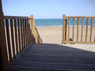 Wood Balcony to the sea - Punta de La Banya