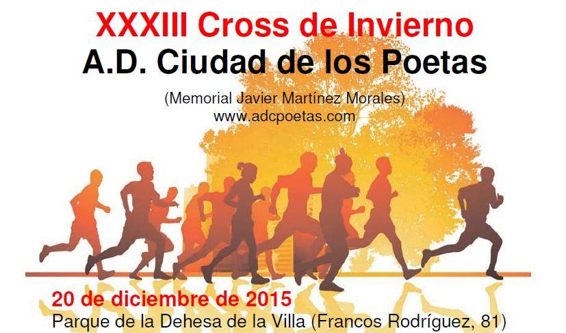 Resultados XXXIII Cross Ciudad de los Poetas