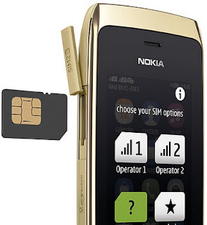 Nokia Asha 310 Full Touch Dual SIM WiFi Harga 800 Ribuan