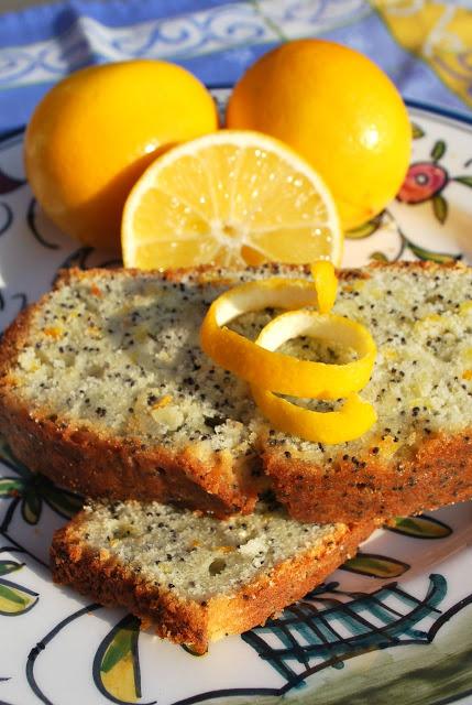 Scrumpdillyicious: Orange Lemon Poppyseed Cake with Citrus Drizzle