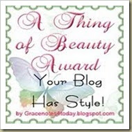 Award by Rosalee