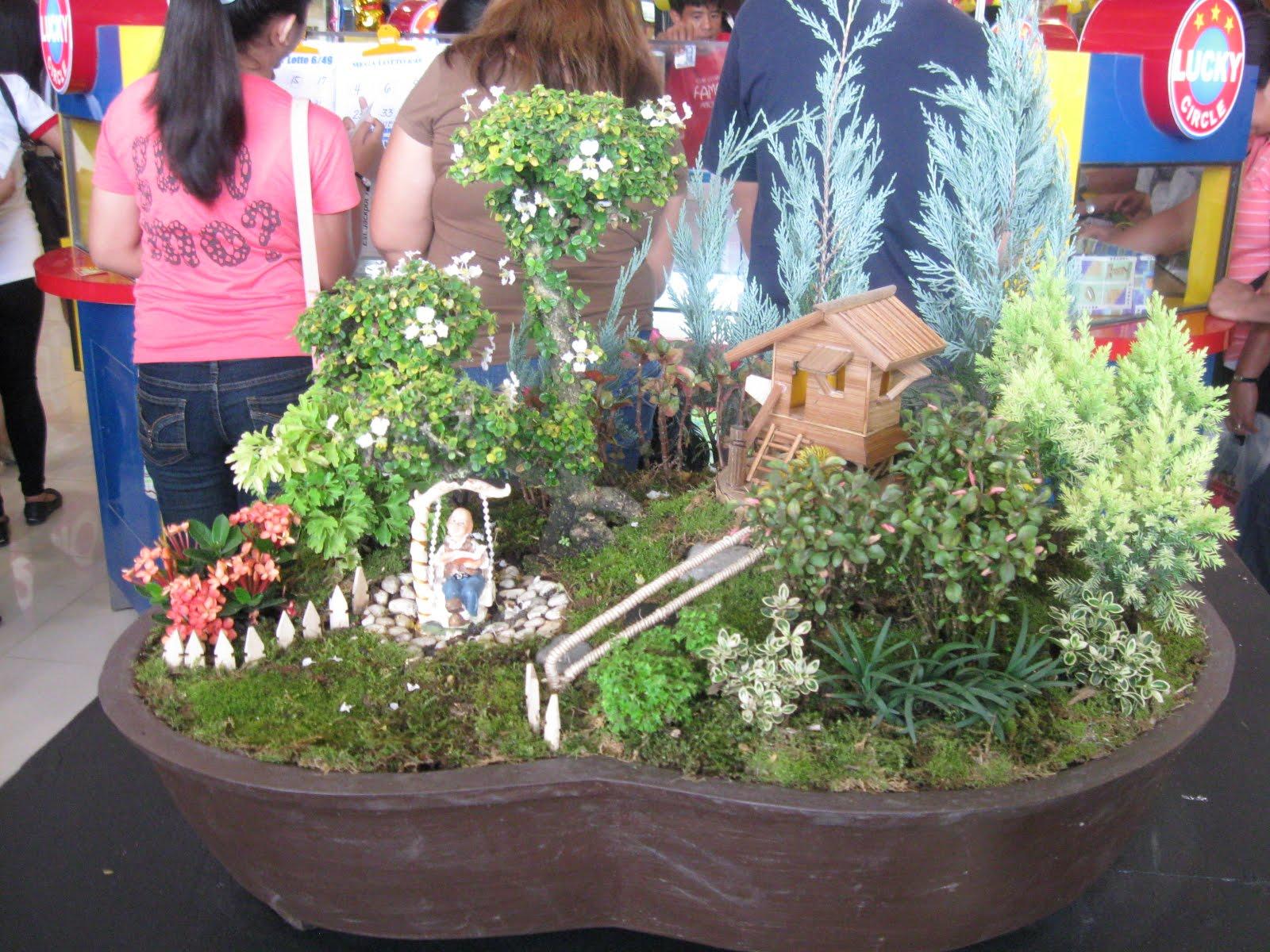 Dish Garden Designs at the 2nd Flora Mindanao at SM Davao