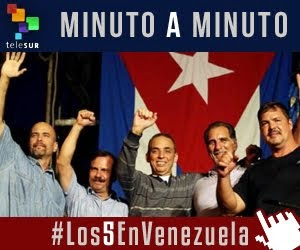 Minuto a Minuto: Los 5 héroes cubanos visitan Venezuela