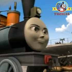 Thomas & friends Toby tram and Bash the steam train heaved the Sodor slate troublesome trucks
