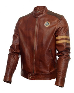 okokno Lotus Originals Heritage Racing Leather Jacket