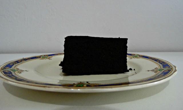 Porción de brownie, sin cobertura todavía