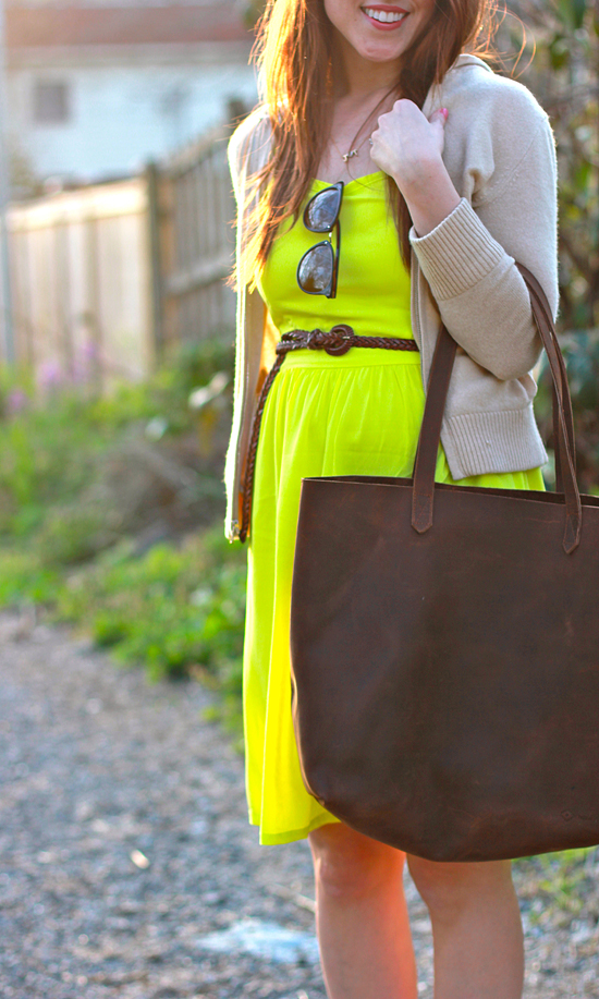 Here & Now : neon + neutrals