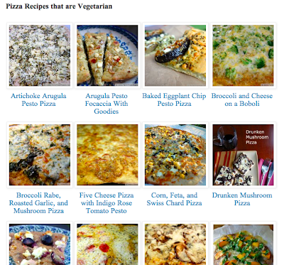 Introducing the Visual Pizza Recipe Index | Farm Fresh Feasts