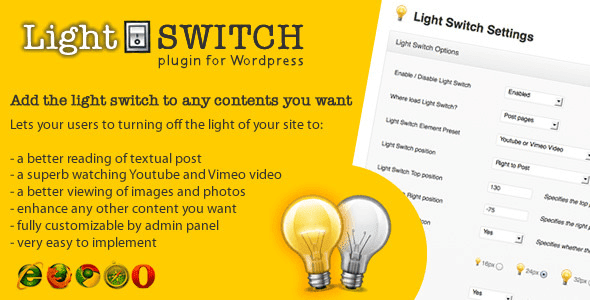 Light Switch v1.4 – Plugin WordPress