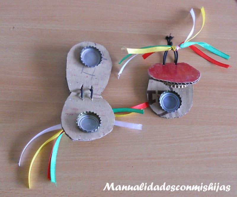 6 instrumentos musicales caseros manualidades for Trabajos artesanales para hacer en casa
