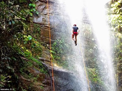 Cachoeira da Roncadeira em Taquaruçu - Palmas - Tocantins