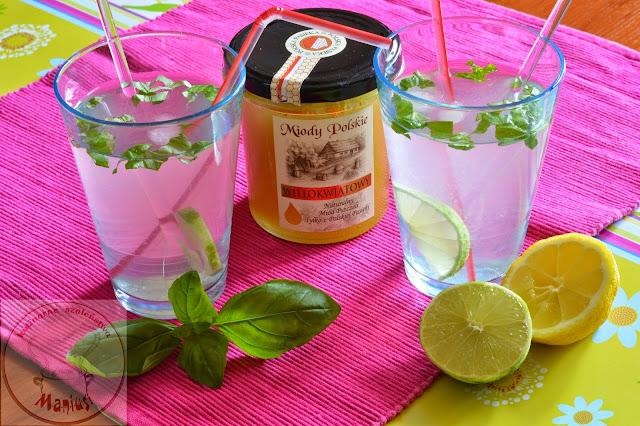 Napoje orzeźwiające na bazie miodu - rozwiązanie konkursu z Miody Polskie