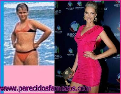 Ana Hickmann Actriz Brasileña antes y después