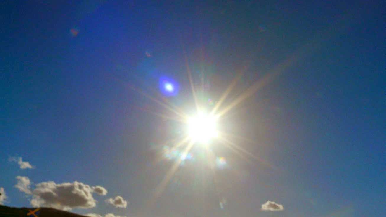 el sol en sopelana