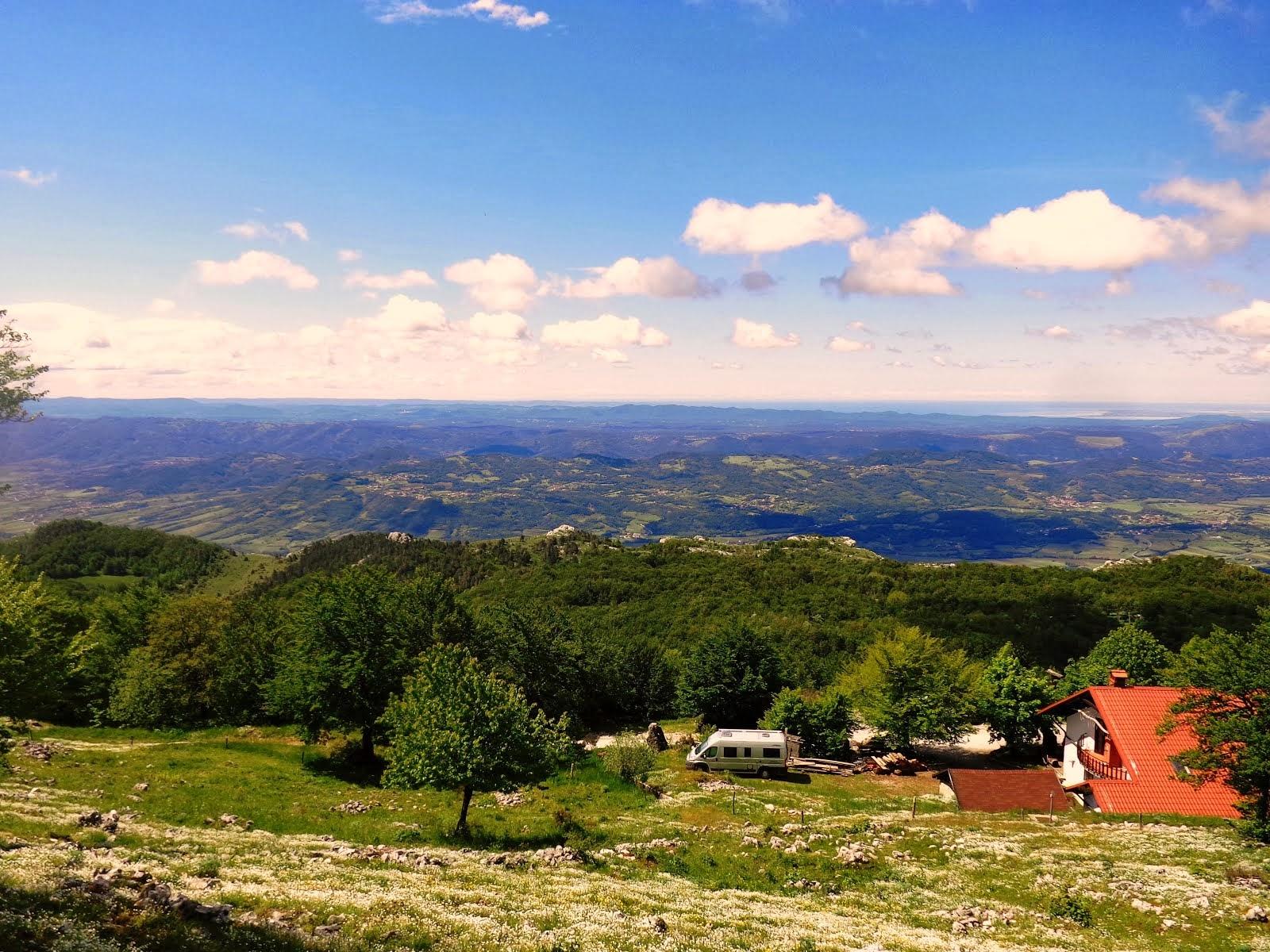 Andar per ostelli - Terza tappa: traversata da Aidussina fino a Idria